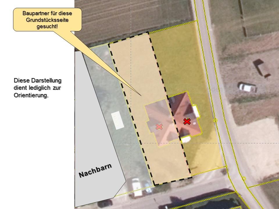 Grundstück in Untermenzing Lageplan