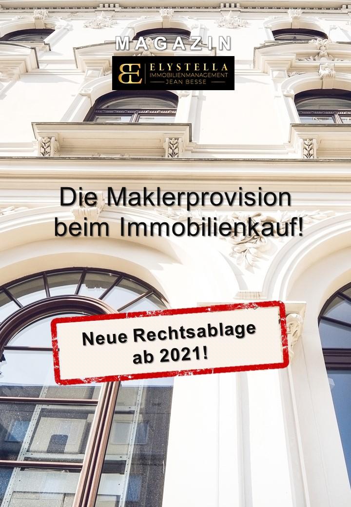 Die Maklerprovision beim Immobilienkauf